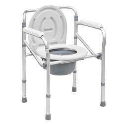 Καρέκλα -Τουαλέτα πτυσσόμενη σταθερή 0809155