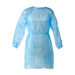 Μπλούζες μίας χρήσης μπλε 30gr (10τεμ) Germanos 002101