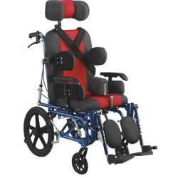 Παιδικό Αναπηρικό Αμαξίδιο Αλουμινίου με στήριξη κεφαλής Mobiakcare 0808612